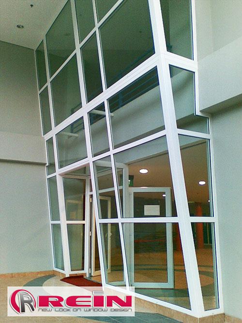Contoh Proyek Kusen UPVC REIN dan Windoor Jakarta