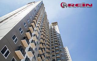 Contoh Proyek Kusen UPVC untuk High Rise Building Apartemen dan Perkantoran