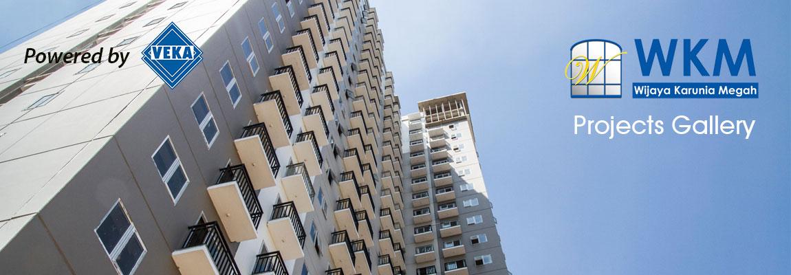 Contoh Proyek Kusen UPVC REIN untuk High Rise Building