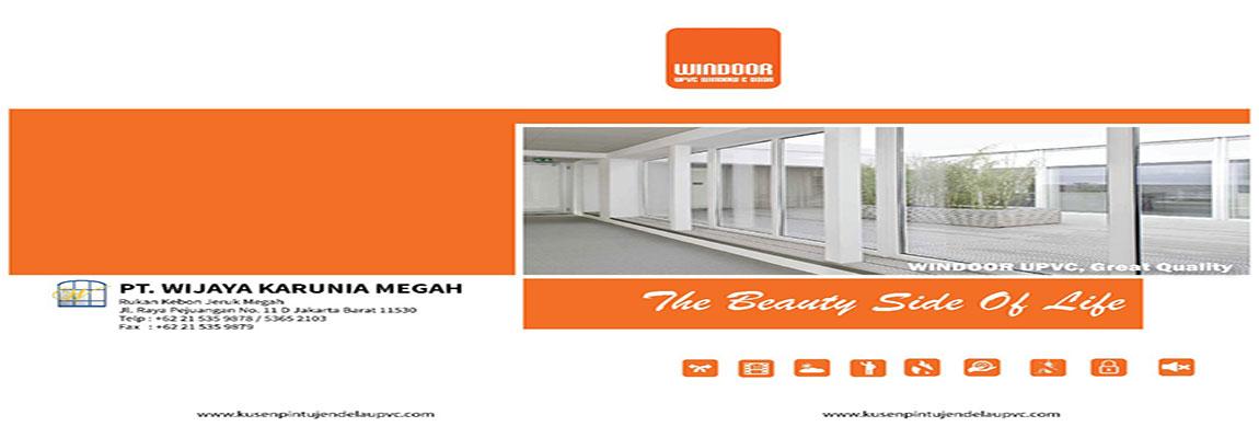 Kami adalah Fabricator Kusen UPVC REIN dan Windoor di Jakarta Indonesia