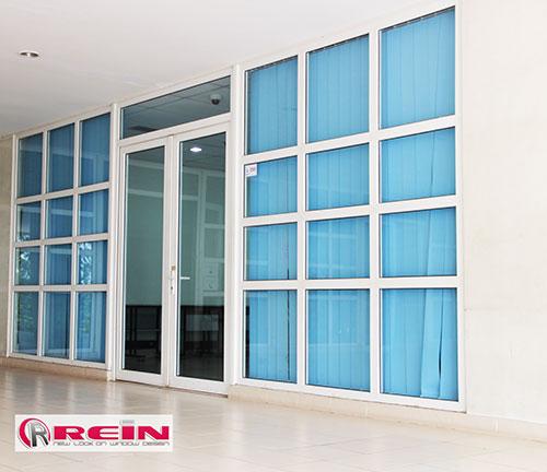 contoh proyek kusen upvc REIN dan Windoor
