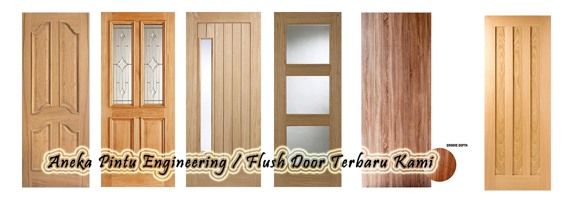 Pintu Engineering Flush Door Terbaru